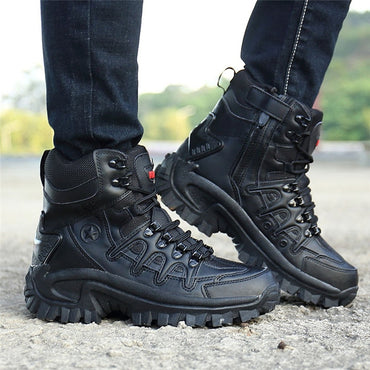 Brand Military Leather Boots Special Force Tactical Desert Leather
