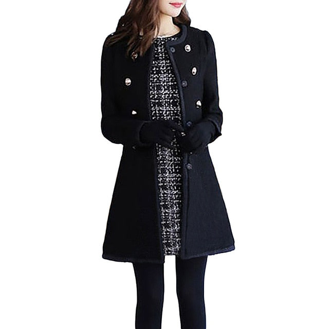 Casual Loose Lapel Trench Coat With Sashes Oversize