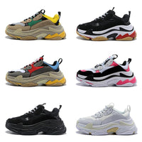 Fashion Designer Paris Triple S Sneakers Shoes
