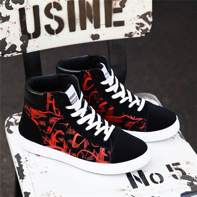 Fashion Shoes New Casual Shoes High Top Sneakers
