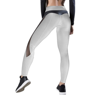 Pants Push Up Leggings Fitness Gym Leggins Running Mesh Leggins