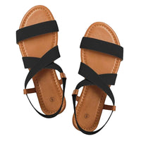 Low Heel Anti Skidding Beach shoes Cross Strap Sandals