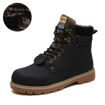 designer shoes Warm Boots Genuine Leather