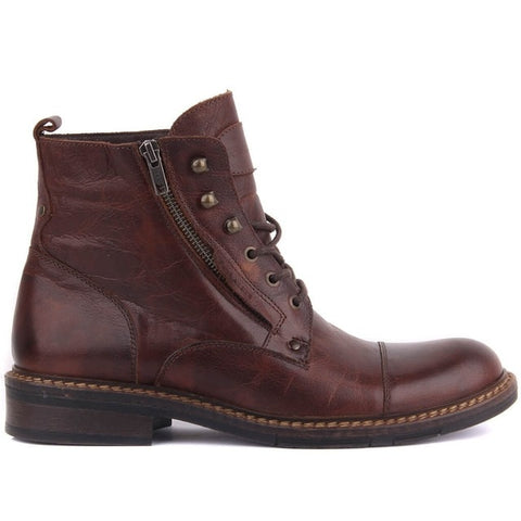 Sail-Lakers Genuine Leather Male Boots