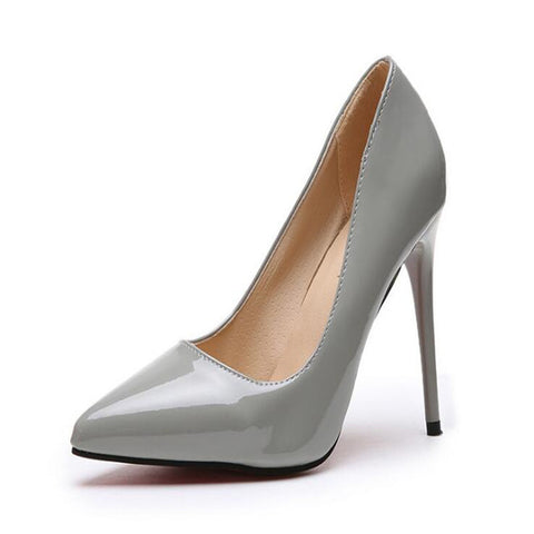 Drop Ship High Heels Pumps Tacones Pointed Toe Stilettos