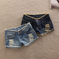 Top quality new fashion sexy Denim Casual pockets Hole Burr jeans