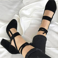 Heels Chaussures Femme Gladiator Summer High Heels