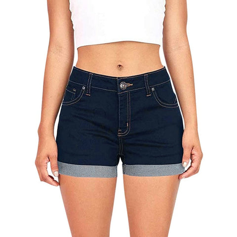 Shorts High Waisted Denim Shorts Jeans Short New Femme