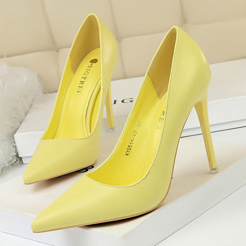 Pumps High Heels Shoes Plus Size White High Heels