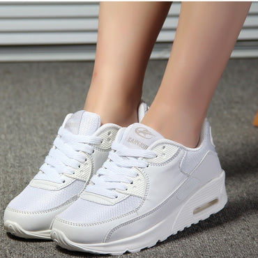 New Designer White Platform Sneakers Casual Shoes