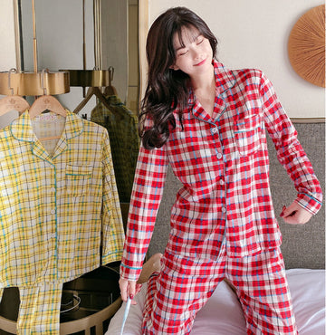 Lapel Casual Pajamas Casual Loose Comfortable