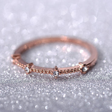 Seasons New Fashion Gold Color Color Ring
