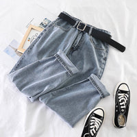 Jeans Wild Mom Jeans Workwear New Harem Jeans