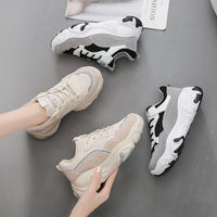 Clunky Sneakers Fashion Casual Shoes Comfortable Breathable