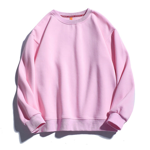 Solid Sweatshirts New Fashion Warm Fleece Hoodies