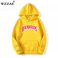 The screw thread cuff Hoodies Streetwear Backwoods Hoodie
