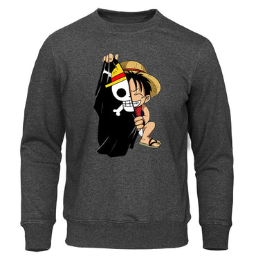 One Piece Hoodie New Sweatshirts Hip Hop Streetwear