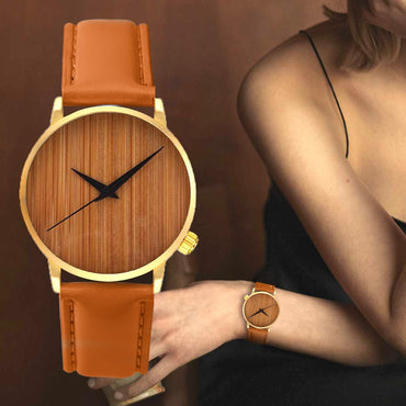 Leisure Bamboo Male Casual Fashion Wooden Watch