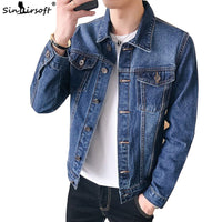 Denim Jeans Retro Cowboy Slim Jacket