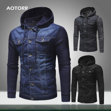 Hooded Denim Jacket New Jeans Jackets