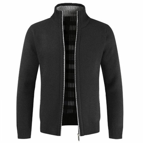 New Jacket Slim Fit Stand Collar Zipper Jacket