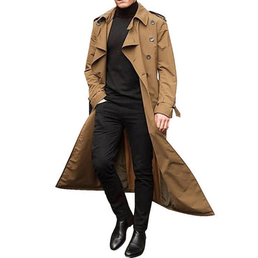 New Long Coat Trench Casual Trench Coat