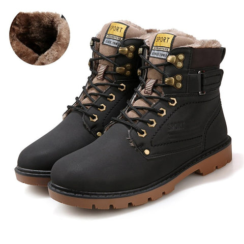 Boots Fashion Super Warm Shoes Outdoor Boots
