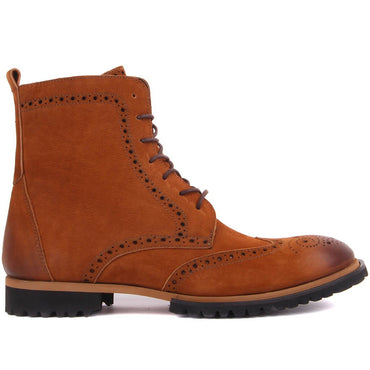 Sail Lakers-Gray Nubuck Men Boots