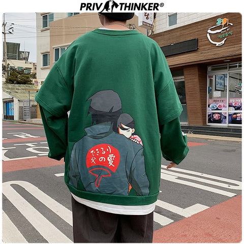 Oversized Hoodie Fashion Letter Print Casual Sweatshirts