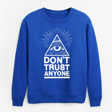 fleece hoodies Illuminati All Seeing Eye sweatshirt