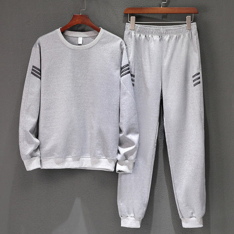 Set Jogging Homme Workout Fitness Tracksuit Long Sleeves Sweatshirts