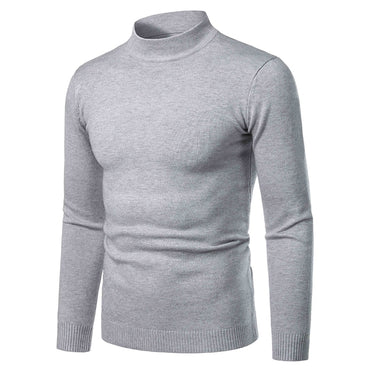High Neck Cashmere Sweater Thick Warm Turtleneck
