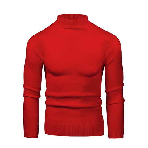 Round Neck Twisted Sweater Long-sleeved Thick