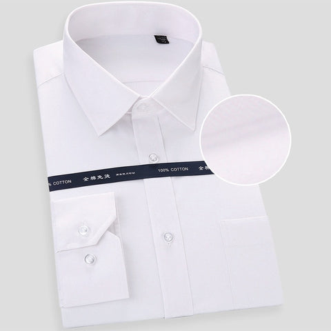 High Quality Non-iron Long Sleeved Dress Shirt