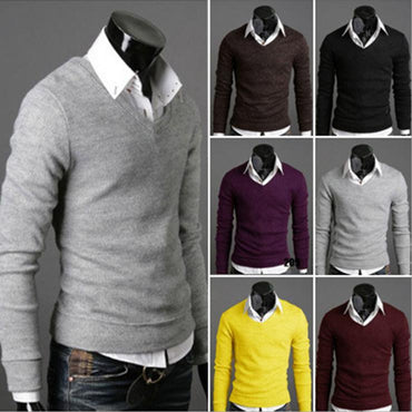 high neck casual fit fashion knitted sweater