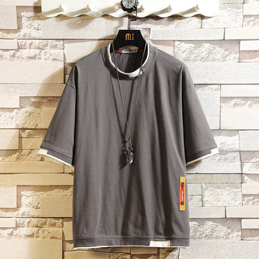 Short Sleeve Shirt Hip Hop Cotton Plus Size Tshirt