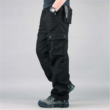Cargo Pants Multi Pockets Military Style Tactical Pants