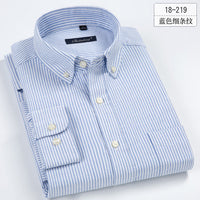 High Quality Striped Business Casual Soft Dress Social Shirts