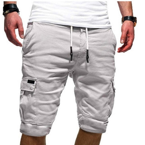 Casual Multi-pocket Drawstring Masculino Hot Sale Casual Shorts