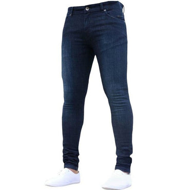 Skinny Super Skinny Jeans Non Ripped Stretch Denim Pants