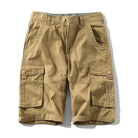 Military Cargo Shorts Army Green Cotton Shorts