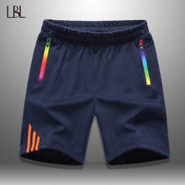Sportswear Casual Boardshorts Zipper Pocket Breathable Short