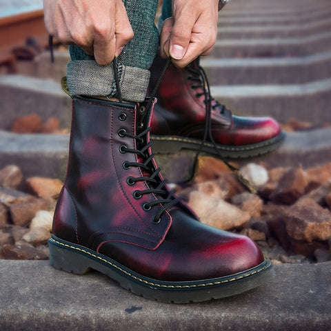 Martens Boot Genuine Leather Boots