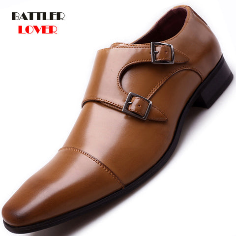 Brand Luxury Leather Oxford Shoes