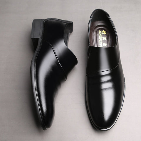 new business Oxfords shoes set of feet Black Brown