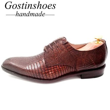 Shoes Handmade Oxford Shoes Formal Elegant Solid