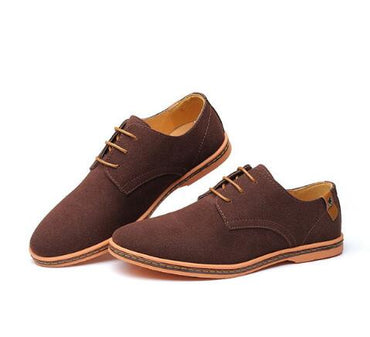 Suede Leather Shoes Oxford Casual Classic Sneakers