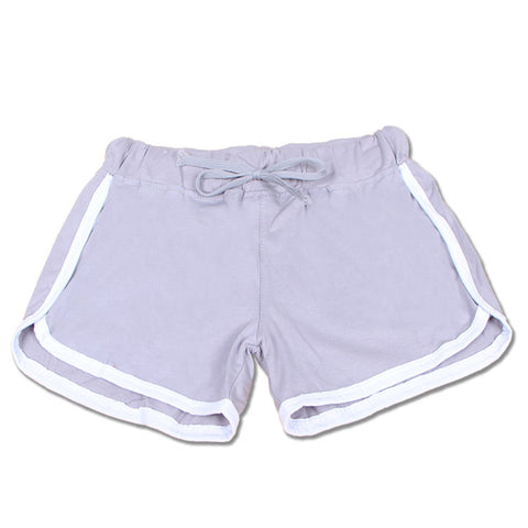 Brand Fashion Shorts Leisure Elastic Waist Shorts