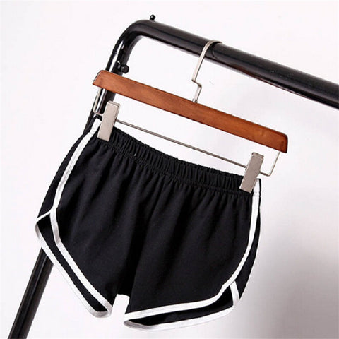 Sports Pants Gym Workout Waistband Running Jogging Short