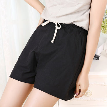 Casual Fashion Candy Color Wide Leg Shorts